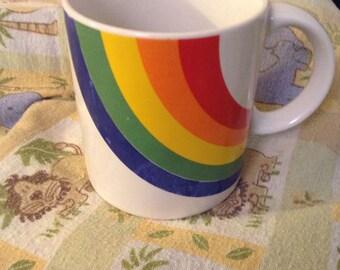 Vintage FTDA Rainbow Mug