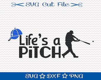 Baseball SVG Cut File / Sports Svg / Baseball SVG File / Baseball Player svg / svg for Baseball / Spring Training svg / Softball Svg