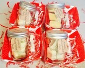 Mini Gift Baskets Upgrade/ Body Butters and Lip Balm Sets/ Mini Spa Basket/ VDayGift