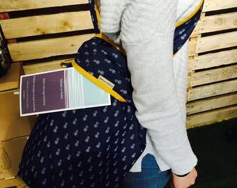 Bag of beach/wetbag/Beach/beachbag/pineapple/jeans bag/japanese bag/shoulder bag / made in Quebec/shopping bag