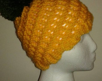 Loom Knit Pineapple Hat