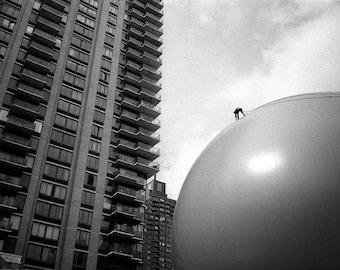 Dyson ball_1, Manhattan, NYC.