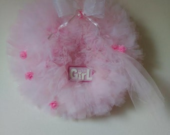 It's a Girl Wreath - Baby Shower - Baby Shower Decorations