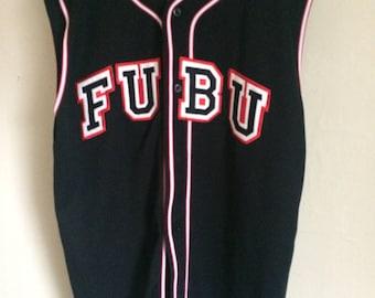 90s Fubu Baseball Jersey