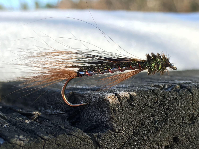 Epp set of 3 fly fishing flies maine flies fly fishing for Maine fly fishing