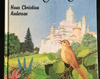 The Nightingale  by Hans Christian Anderson (Barron's Fairy Tales) first U.S. Edition 1985