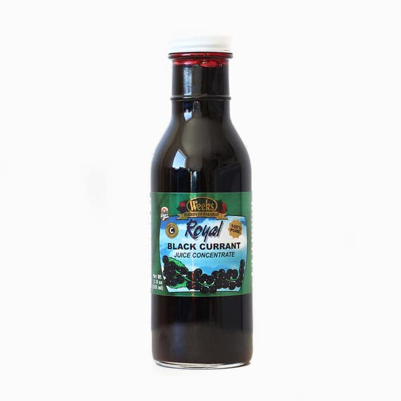 Black Currant Juice Concentrate, Antioxidant, No Preservatives - Utah's Own