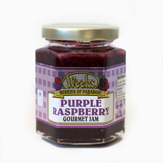 Purple Raspberry Jam, Gourmet - Utah's Own, Preserves, Jelly, Marmalade