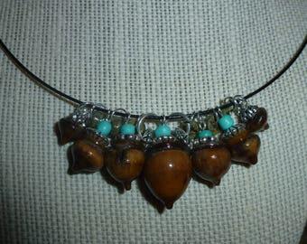 Acorn Necklace D #11