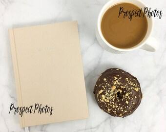 Coffee Styled Stock Photography| Donut stock photos| Instagram photos