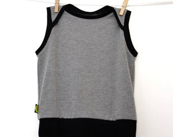 Heather gray tank easy to thread (2 to 5 years)