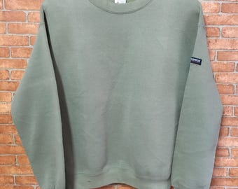 Vintage Edwin Usa Sweatshirt Pullover Jumper Green M