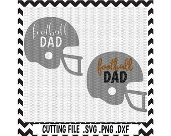 Football Dad Svg-Dxf-Png, Cutting Files For Silhouette Cameo & Cricut, Svg Download.