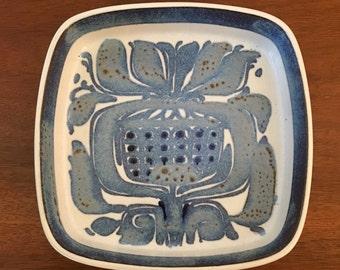 Royal Copenhagen Fajance Plate Kai Kristiansen No. 489/2883
