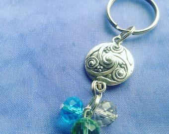 Keyring, Keychain, Handmade, Bag Accessory, Purse Charm