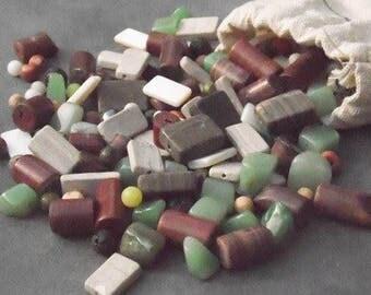 mixed gemstones, semi precious beads, gemstone supply, mixed beads, small beads, semi precious gemstones, beads supplies, large beads, beads
