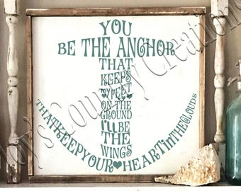 You be the Anchor  SVG, PNG, JPEG
