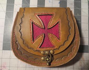 Maltese Cross Belt Bag