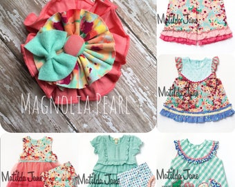 M2M Matilda Jane Clothing, Happy and Free hair pretty, hair accessory, bow, headband, clip