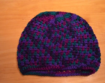 Stone Stitch Slouch Hat