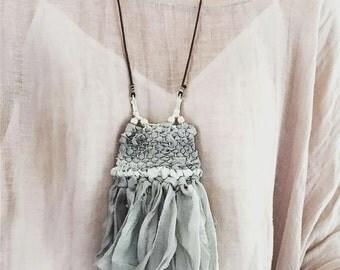 Silk Woven Necklace