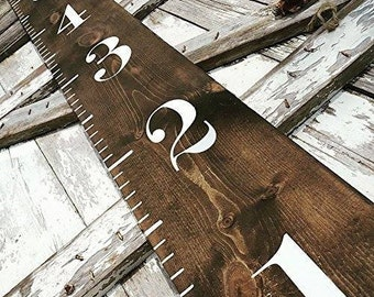 Wooden Growth Chart | Farmhouse Decor | Farmhouse Style | Rustic Home Decor | Nursery Decor | Woodland Nursery | Rustic Home Décor