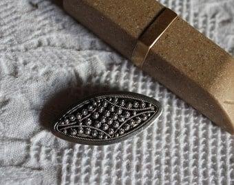 silverbrooch, Artdeco, 20s, handmade