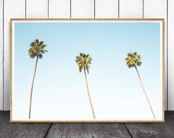 Tropical Print, Tropical Wall Art, Tropical Decor, Tropical Palm Tree, Wall Art Print, Palm Tree Print, Palm Tree Wall Art, Palm Tree Decor