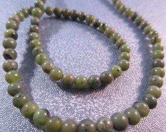 African Jade Round 4mm Beads 97pcs