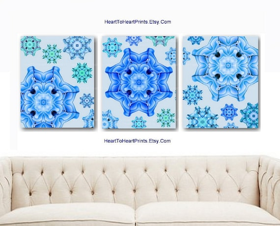 Turquoise Teal Wall Decor : Bedroom wall decor aqua blue teal mint turquoise floram