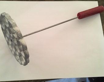 Bunuelera para hacer bunuelos wood handle