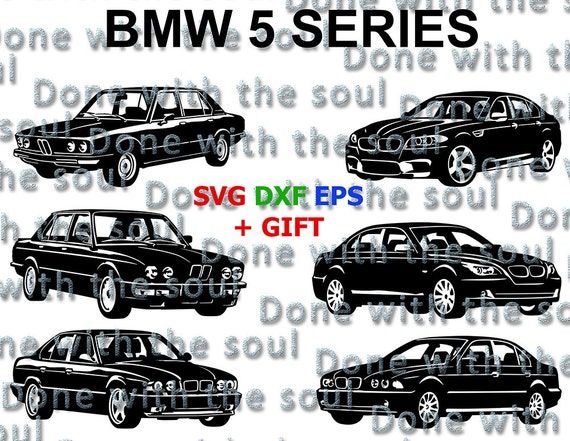 Bmw M5 U2013 Car Vector   Bmw Vector   E12   E28   E34 U2013 E60 U2013 E39 U2013 F10 U2013Car  Svg   Car Cutting U2013 Car Cut Files   Car Download   Bmw Svg U2013 Dxf
