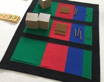 Montessori Equation Mat, Montessori, Montessori Math,  Montessori Addition, Montessori Material, Montessori Classroom, Homeschooling