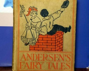 Hans Christian Andersen, Andersen's Fairy Tales, Vintage Antique Book - Pukblished by Henry Altemus with 60+ Illustrations (1898)
