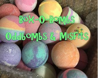 Box O Bombs-Oddbombs&Misfits-Clearance-Cheap Bombs