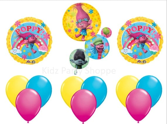 Trolls Balloon Party Decor