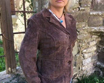 Aygill Women's Suede Leather Jacket approx 10 to 12