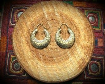 Earrings - Mountain