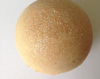 Peach Zinfandel Bath Bomb/Golden Peach/Glitter Bath/Wine Bath