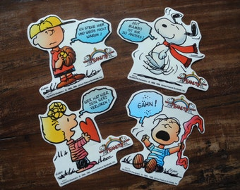 Peanuts snoopy stickers
