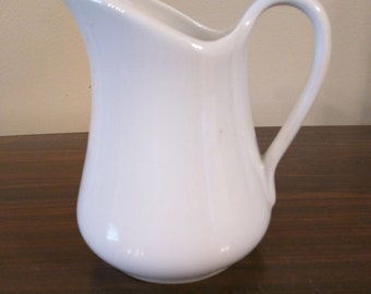 Pillivuyt porcelain pitcher
