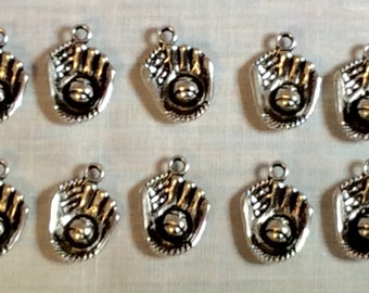 Baseball Glove Charms