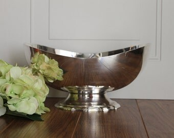 Vintage Silver Plated Bowl, Vintage Reed & Barton Silver Plated Bowl, Antique Wedding, Wedding Gift, Collectible.