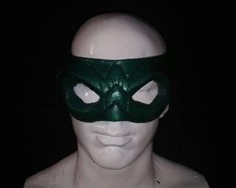 Green Arrow Latex Face-Mask