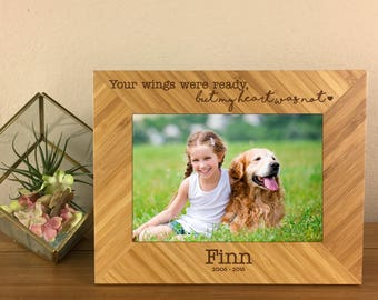 Pet Loss, Dog Loss, Dog Remembrance, Dog Remembrance Gift, Dog Memorial, Pet Remembrance, Pet Memorial Gift, Personalized Pet Frame, Frame
