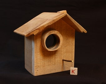 Wood decorative birdhouses / wall decor / bedroom / green / natural / poetic / wall light.