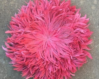 Juju Hat Style Wall Hanging - Candy Pink 40-50cm Diameter