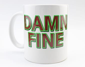 Damn Fine Coffee - Coffee Mug - Twin Peaks