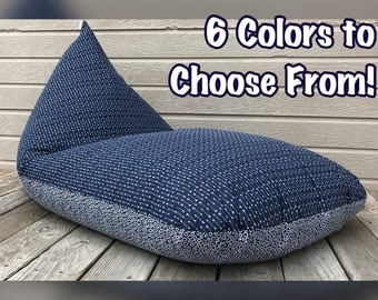 Bean Bag Chair/Lounger - 6 Colors Available