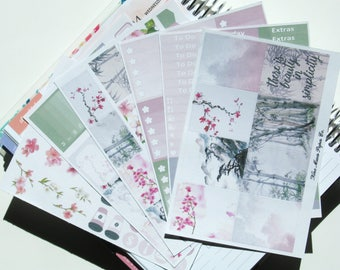 Planner Stickers - Blossoms